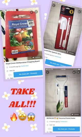 Kitchenwares TAKE ALL‼️ FREE SHIPPING ‼️🔥