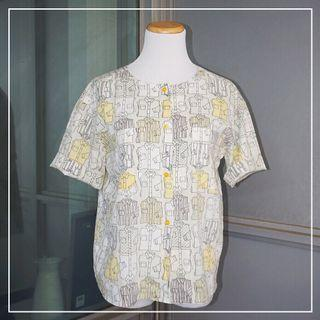 *Great Condition* Short Sleeve Summer Shirt (fits like S-M)