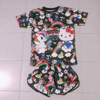 Hello Kitty Tokidoki Dri Fit Set