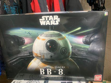 bandai starwars 星戰bb8模型