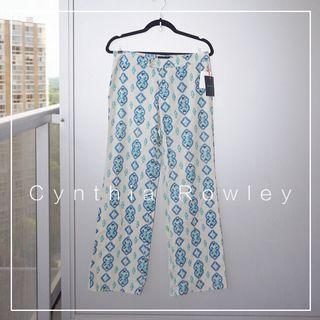 "*NWT* Cynthia Rowley Bohemian Linen-blend Pants (Waist 30"")"