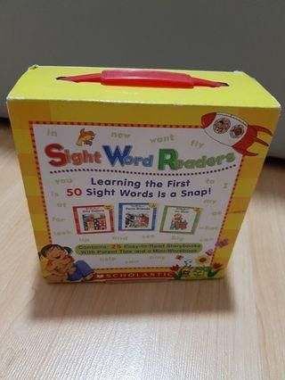 Scholastic sight words readers