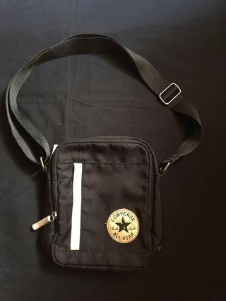 Converse Sling Bag Black and White