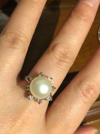 A Faux Dimond Ring - new
