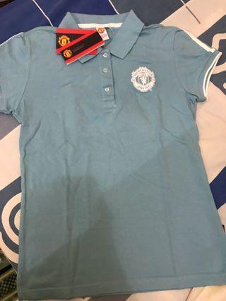 Manchester United Babyblue Polo Shirt