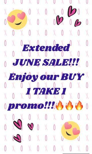 EXTENDED JUNE SALE‼️ BUY 1 TAKE 1 PROMO‼️🔥