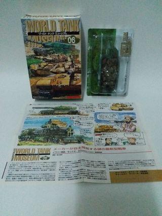 海洋堂kaiyodo world tank museum 06隱藏特別版以色列迷彩坦克車