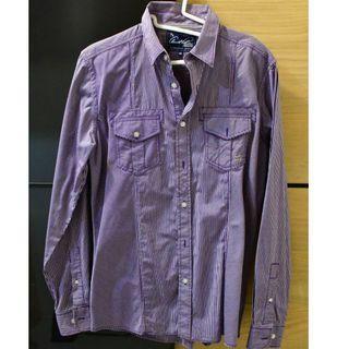 雨傘牌 紫色上衣