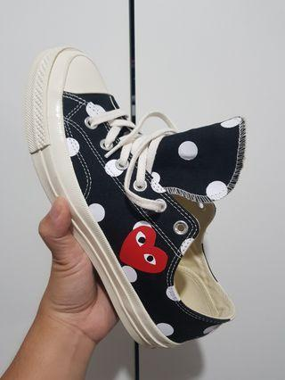 Converse X Cdg size 8