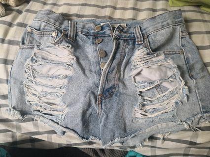 MinkPink Shorts Size 10