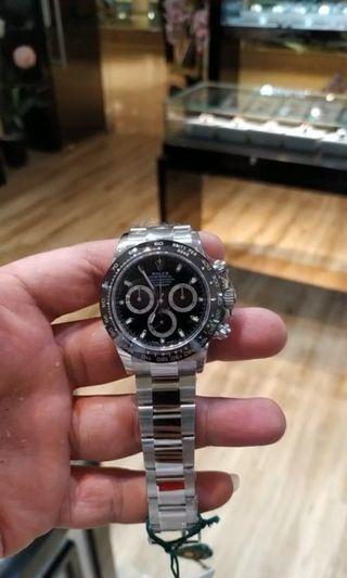 BNIB Rolex Daytona 116500LN Black Dial May 2019