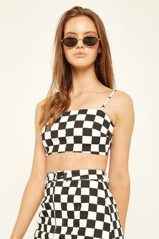 L&T Checkered Crop