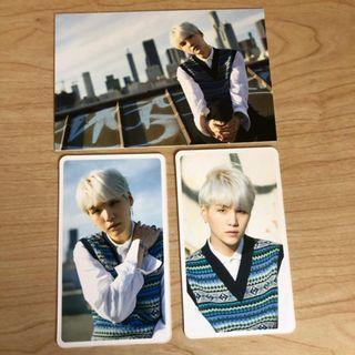 [PRICED REDUCED] BTS Suga Yoongi D-icon Dispatch Magazine Photocard + Postcard Set