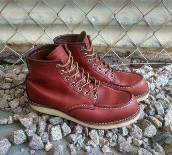 Red Wing 9106 moc toe boots