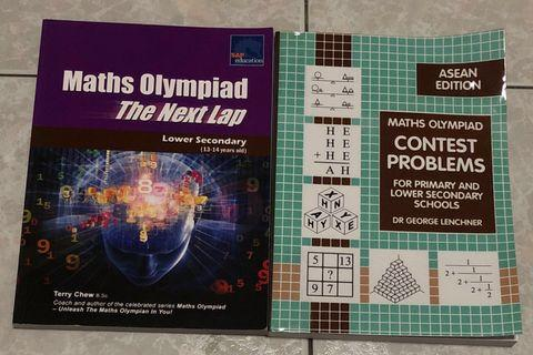 [Assessment Books] Bundle: Secondary School Maths Olympiad