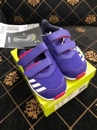 Adidas Adifit Girls Size 23 1/2 Ori