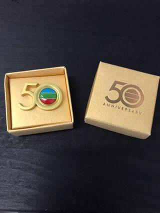 TVB 50 週年 金禧紀念飾物
