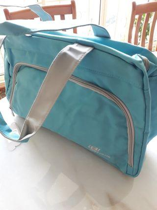 🚚 Skechers Carrier Bag Light Blue