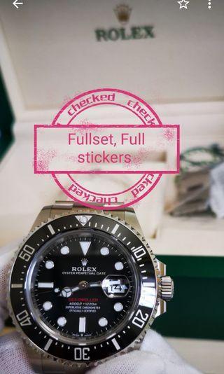 🚚 Rolex sea dweller 126600