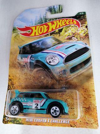 Hot Wheels Mini Cooper S Challenge Rally Series