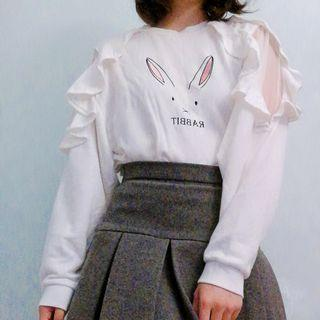 Rabbit ruffle top
