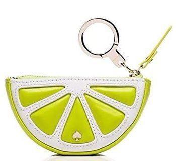 Kate Spade lime coin purse