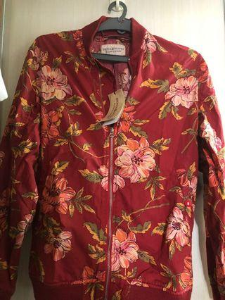 Ralph Lauren red floral jacket
