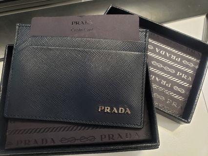 [全新] Prada男裝 card holder