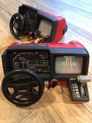 80's Turbo Tomy Dashboard Racing