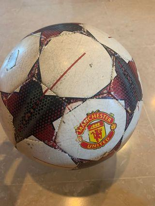 Manchester United champions league football
