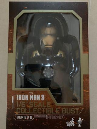 Hottoys Iron Man Mark 20 mk20 XX 頭像 半胸像 Python 可亮燈 Bust 1:6