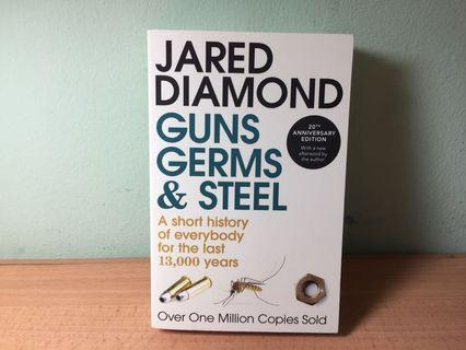 Guns, Germs & Steel: A short history of everybody for the last 13,000 years (Jared Diamond)
