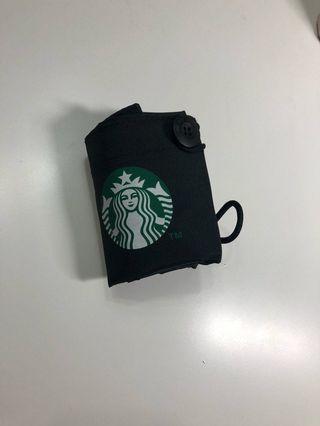 星巴克 FNG 寶特袋 手提款 飲料提袋二合一