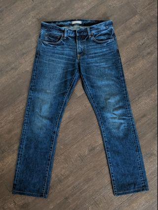 Uniqlo Slim Fit Selvedge Jeans
