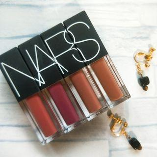 🚚 NARS issist 迷你唇釉wanted velvet lip glide 3.4g