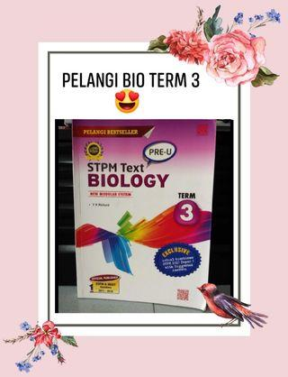 STPM Biology Pelangi Term3
