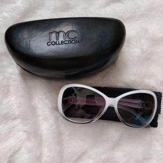 Kacamata Hitam Sunglasses Marie Claire - White