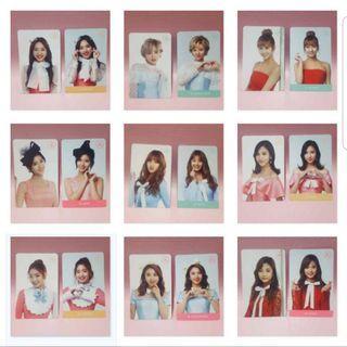 [ TWICE ] First Twiceland Photocards