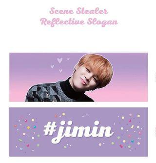 [WTS] Jimin Fansite Slogan