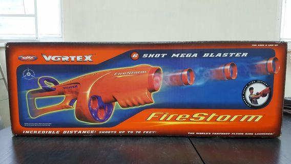1999年 Hasbro OddzOn Koosh brand Vortex Firestorm 指環槍