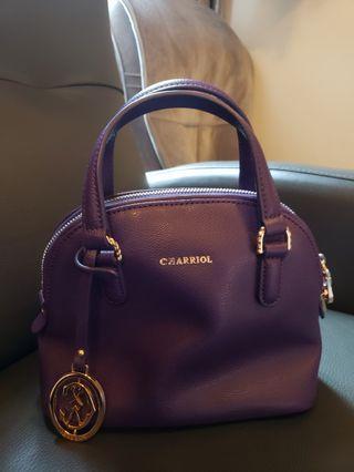 紫色 Charriol 手袋仔