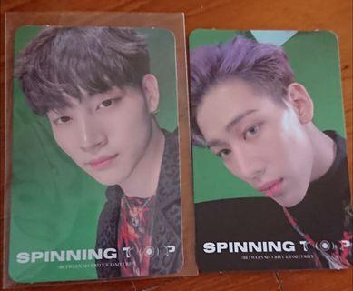 Wtt/wts got7 spinning top pc