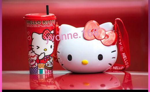 (INSTOCK) Sanrio Hello Kitty Popcorn Bucket & Collectible Cup