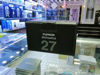 [實體店] Fujifilm fujinon XF 27mm F2.8 (平行進口) 議價不回