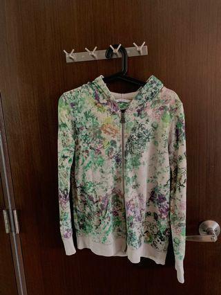 Esprit floral hoodie