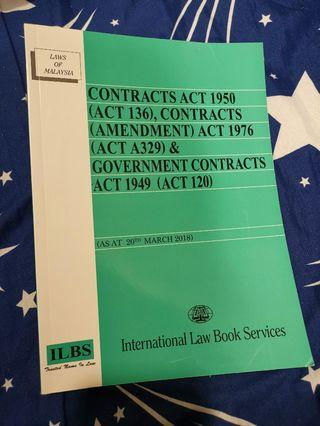 Contract Act Law Book