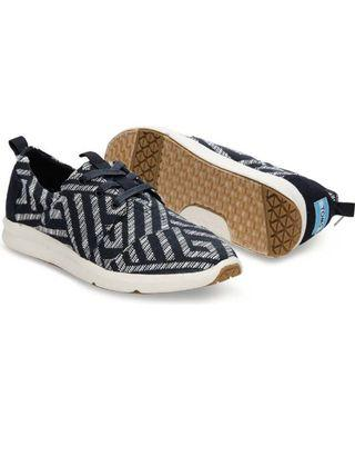 TOMS Del Rey Black Tribal sneaker