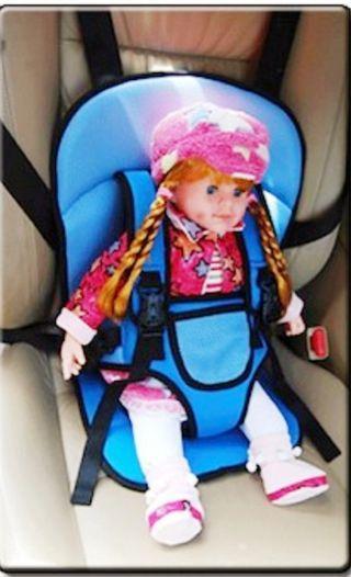 Child car seat cushion