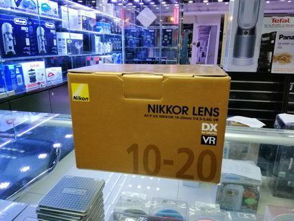 [實體店] Nikon AF-P Nikkor 10-20mm f/4.5-5.6G VR (平行進口) 議價不回