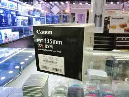 [實體店] Canon EF 135mm f/2L usm (平行進口) 議價不回